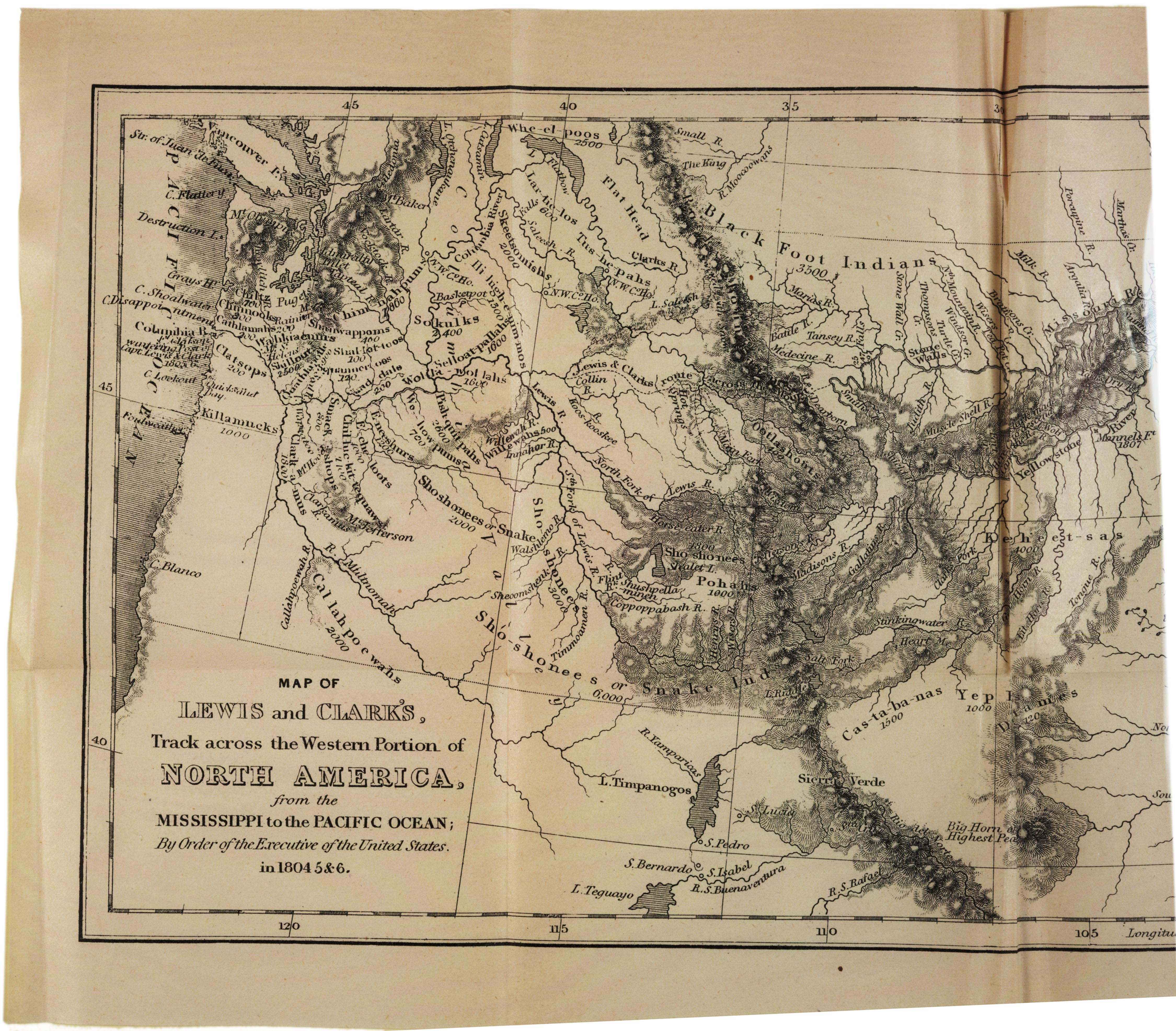 A map of the Louisiana Territory, 1806 | AP US History Study Guide ...