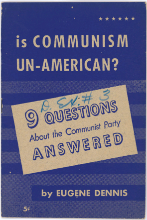 Anti Communism In The 1950s
